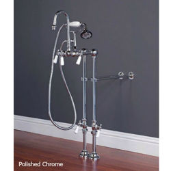 Tub Filler | Gooseneck with Hand Shower