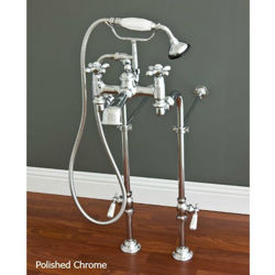 Picture of Tub Filler | Widespread with Hand Shower