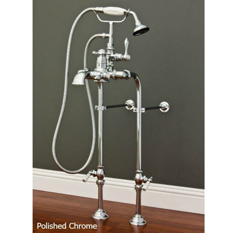 Tub Filler   Single Handle with Hand Shower