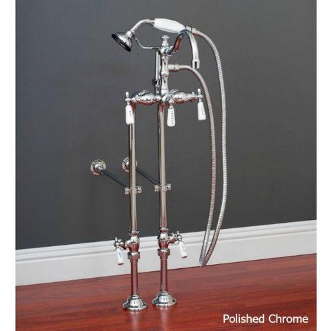"Tub Filler | Hand Shower - 3 3/8"" Centers"