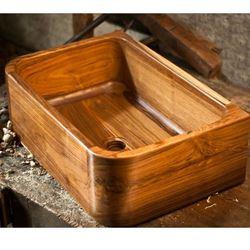 Teak Wood Bath Sink - T1