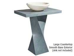 Picture of Helical Pedestal - Mercury Granite