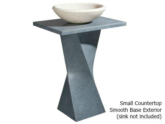 Picture of Helical Pedestal - Mercury Granite