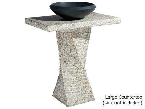 Helical Pedestal - San Cecilia Granite