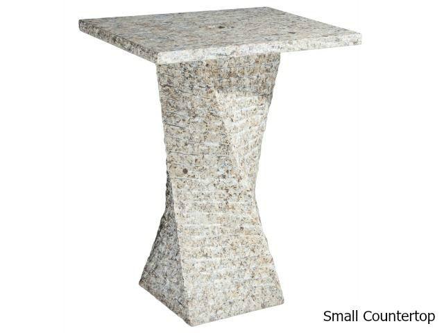 Picture of Helical Pedestal - San Cecilia Granite
