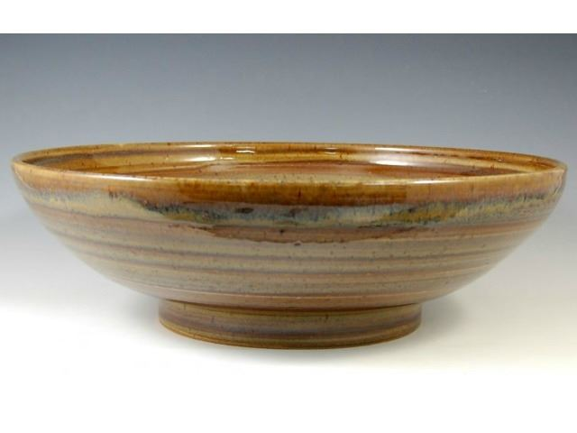 Picture of Delta Ceramic Vessel Sink in Spun Gold