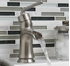 Picture of Sanibel Single Post Open Spout Bath Faucet - Brushed Nickel
