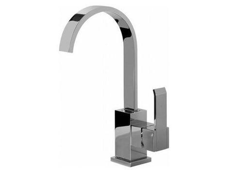 GRAFF Qubic Lavatory Vessel Faucet - Polished Chrome