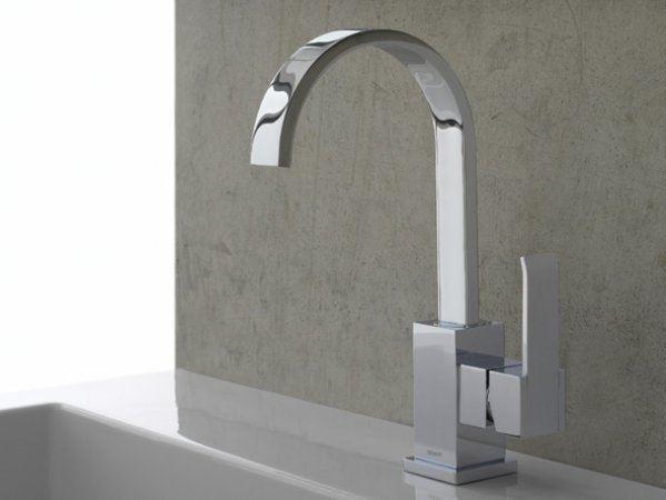 Picture of GRAFF Qubic Lavatory Vessel Faucet - Polished Chrome