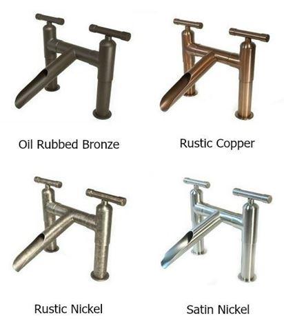 Waterbridge Deck-Mounted Soap Dispenser - Rustic Copper
