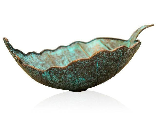 Picture of Oak Leaf Vessel Sink by SoLuna