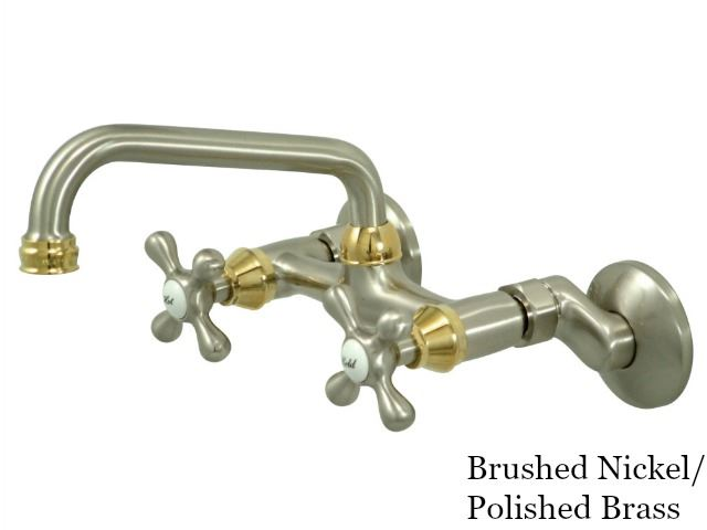 Picture of Kingston Brass Magellan Wall Mount Kitchen Faucet