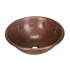"Picture of 17"" Round Copper Bathroom Sink - Stars by SoLuna"