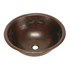 "Picture of 17"" Round Copper Bathroom Sink - Dragonfly by SoLuna"