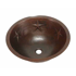 "Picture of 17"" Round Copper Bathroom Sink - Texas Star by SoLuna"