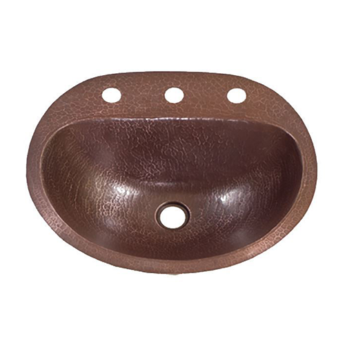 "Picture of 19"" Durango Copper Bathroom Sink by SoLuna"