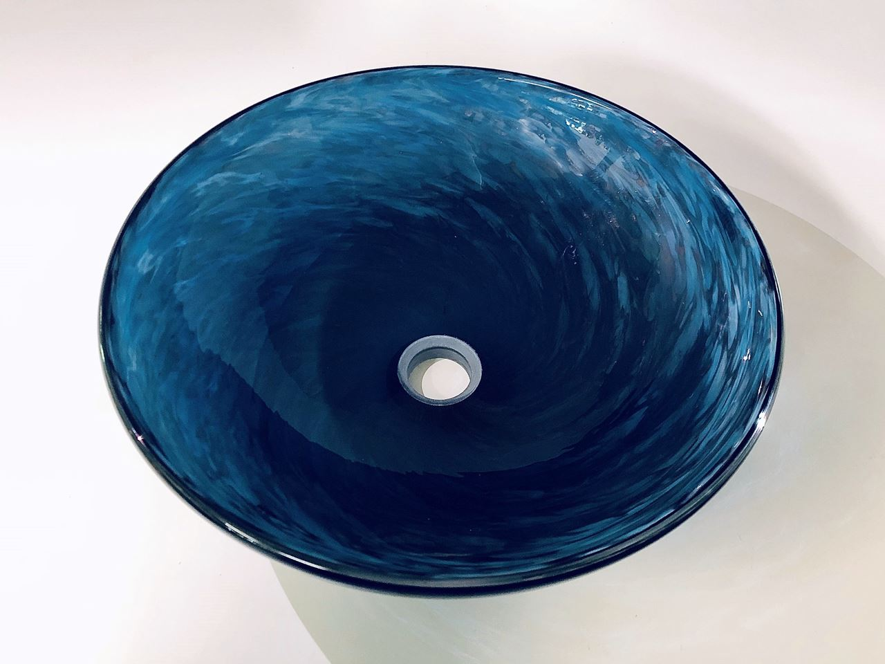 Picture of Blown Glass Sink - Tidepool