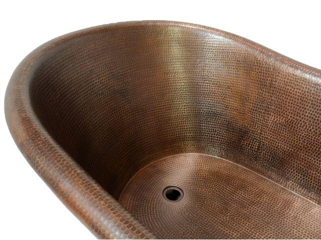 Picture of SALE Copper Nicole Bath Tub - Rio Grande