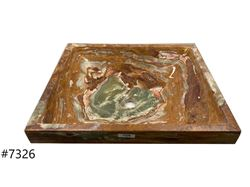 Picture of SoLuna Red Onyx Zen Vessel Sink - Sale