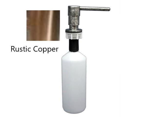 Picture of Waterbridge Deck-Mounted Soap Dispenser - Rustic Copper