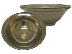 Hand Painted Sink | Antique Bronze