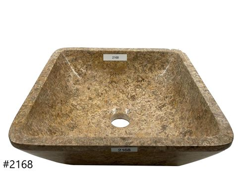 Oceanic Square Stone Vessel Sink