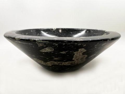 Genese Fossil Vessel in Noir (156)