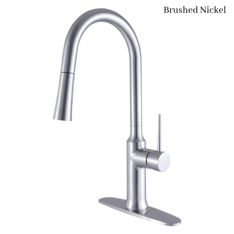 Kingston Brass New York Deck Mount Faucet LS2728NYL - Brushed Nickel Finish