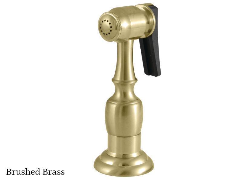 Kingston Brass Kitchen Faucet Side Spray KBSPR7 Brushed Brass Finish
