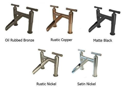 Sonoma Forge | Bar or Prep Faucet | WaterBridge Gooseneck | Deck Mount