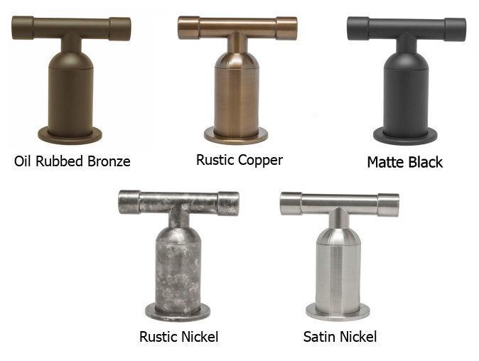 Picture of Sonoma Forge | Bar or Prep Faucet | Brut Cap Spout | Deck Mount