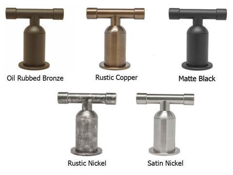 Sonoma Forge | Bar or Prep Faucet | Brut Elbow Spout Single Post | Deck Mount