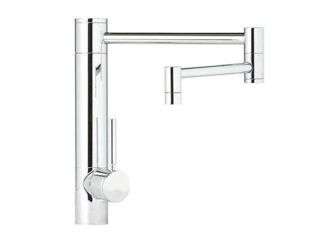 """Picture of Waterstone Hunley Kitchen Faucet - 18"""" Spout Reach"""