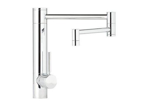 "Waterstone Hunley Kitchen Faucet - 18"" Spout Reach"