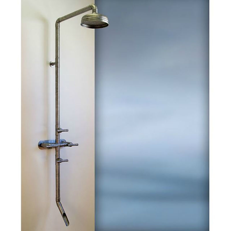 Sonoma Forge Waterbridge 870 Indoor or Outdoor Shower System with Tub Filler