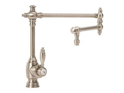 "Waterstone Towson Kitchen Faucet with Single Handle - 18"" Articulated Spout"